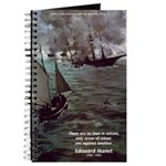 Manet Painting Color Quote Journal