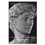David with Michelangelo Quote Large Poster