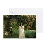 Berthe Morisot Art Quote Greeting Cards (Package o