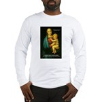 Raphael Madonna Painting Long Sleeve T-Shirt