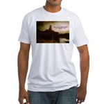Rembrandt Painting & Quote Fitted T-Shirt