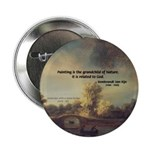 """Rembrandt: on God & Painting 2.25"""" Button (100 pac"""