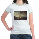 Rembrandt: on God & Painting Jr. Ringer T-Shirt