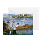 Renoir Painting: Art & Beauty Greeting Cards (Pack
