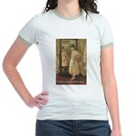 Aesop Quote Psyche Painting Jr. Ringer T-Shirt