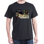 Freud Erotic Quote and Titian Black T-Shirt